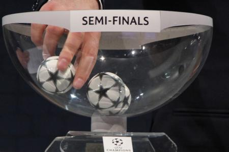 The Champions League semifinal pairings are set: Bayern Munich vs. Atletico Madrid, Manchester City vs. Real Madrid