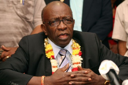 Jack Warner, former CONCACAF and FIFA executive