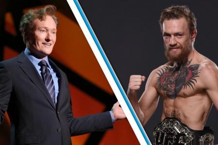 Conor McGregor owns Conan O'Brien in UFC 2