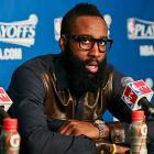 James Harden, Rockets: Game 1 vs. Thunder (Layne Murdoch Jr./NBAE via Getty Images)