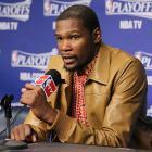 Kevin Durant, Thunder: Game 3 vs. Grizzlies (Joe Murphy/NBAE via Getty Images)