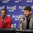 Mike Conley, Marc Gasol, Grizzlies: Game 3 vs. Thunder (Joe Murphy/NBAE via Getty Images)