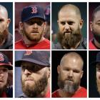 The Red Sox have beards. Not sure if you heard. (AP)