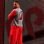 Damian Lillard models the Blazers' new varsity jacket. (Adidas)