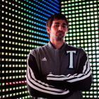 Ricky Rubio models the Timberwolves' new varsity jacket. (Adidas)