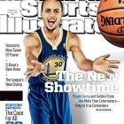Warriors guard Stephen Curry graces one of the regional covers for Sports Illustrated's 2013-14 NBA season preview issue. (Michael Hickey/Getty Images)
