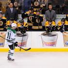 Boston Bruins vs. Dallas Stars :: AP/Elise Amendola