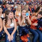 Auburn cheerleaders :: Donald Miralle/SI