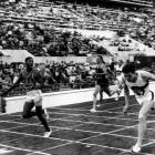 Though it appears otherwise American Otis Davis (left) nipped German Carl Kaufman   in this 400 meter photo finish at the 1960 Summer Olympics.  (Gamma-Keystone via Getty Images)
