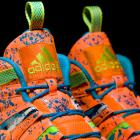 """A detail look at the 2014 All-Star edition of the Adidas """"Crazy 8"""" sneakers. (Adidas)"""