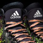 """A detail look at the """"Crazyquick 2"""" All-Star sneakers by Adidas. (Adidas)"""