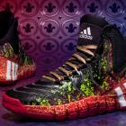 """Damian Lillard and John Wall will wear the """"Crazyquick 2″ sneakers by Adidas at the 2014 All-Star Game. (Adidas)"""