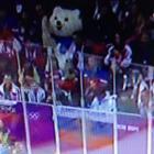 Not creepy at all at the US-Russia men's hockey thriller. (twitter via @matthillman10)