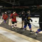 The Blackhawks Hosted the USA Warriors Ice Hockey Team Over the Weekend