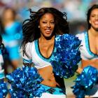 """Meet Siobhan of the Carolina Panthers TopCats, who wants to go sky diving someday, loves french toast and her grandmothers ackee and saltfish, a traditional Jamaican dish.  Her celebrity crush is Robert C. Riley, """"...because he is athletic and loves theater just as I do! Oh, and I forgot to mention he's super cute!!!"""""""