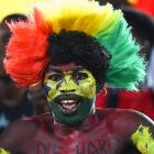 Painted Fans at the World Cup