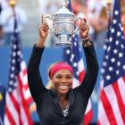 The pressure of winning No. 18 weighed on Serena all season, as she suffered early losses in the first three Slams of the year. But she rebounded to roll to the title in New York. She didn't lose a set all tournament and routed Caroline Wozniacki 6-3, 6-3 to join Chris Evert and Martina Navratilova with 18 career majors, putting her in a three-way tie for second place in the Open Era behind Steffi Graf.