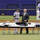 from the Tampa Bay Rays on Sept. 16