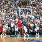 Bulls at Jazz, Game 6, 1998 NBA Finals | Michael Jordan's game-winning buzzer beater is possibly the most memorable shot of his storied career. Jordan retired six months later, but returned to the NBA in 2001 with the Washington Wizards.