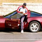 Michael Jordan arrives at the Chicago Bulls' Berto training center in March 1995. After a stint with the Chicago White Sox, Jordan returned to his true passion in basketball. He went on to win three straight titles from 1996 to 1998.