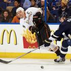 Getzlaf has been one of the top centers in the game for nearly a decade. A power forward blessed with elite vision, he's led Anaheim in assists in each of the past nine seasons, and four times has finished among the league's top 10 scorers. — Honorable mentions: Keith Tkachuk (Jets, 1990); Olaf Kolzig (Capitals, 1989)
