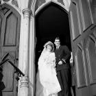 Johnny Pesky and Ruth C. Hickey