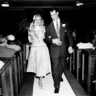 Gordie Howe and Colleen Joffa