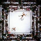 Float and sting: In a display of speed and combination punching unmatched in heavyweight history, Ali overwhelmed Williams from the start. The challenger, here down for the third time in round 2, would be saved by the bell before referee Harry Kessler could count him out, but it would only postpone the inevitable. Ali dropped Williams again early in the next round, and Kessler waved the mismatch over at 1:08 of the third.