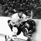 Though his offensive exploits made headlines, Bobby Orr's defensive prowess was second to none. Unafraid of the physical game (or a fight) and able to use his speed to foil opponents' rushes, he won a record eight consecutive Norris Trophies, beginning with the 1967-68 season.