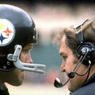 Chuck Noll was Bradshaw's only head coach during his 14-year-career.