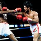 Sugar Ray Leonard, who had won the Olympic light welterweight gold medal in Montreal in 1976 and was now WBC welterweight champion, had come back to that city to defend his title against the former lightweight champion of the world, Roberto Duran, on June 20, 1980. Duran took the title from Leonard that night, beating him narrowly but unanimously, in a war that locked the two fighters in a kind of brutal dance and swept them from one side of the ring to another for 15 rounds.