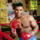 Mike Tyson poses during a photo shoot for his first SI cover.