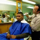 The Sanitary Barber Shop in Catskill, N.Y., was one of Mike Tyson's regular visits.