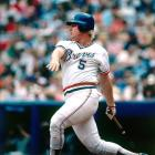 """The Atlanta Braves lost 11-8 to the Montreal Expos despite Horner's four home runs. """"I had a good week today,"""" Horner told the Associated Press."""