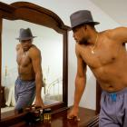 Charles Barkley, who famously battled weight issues throughout his career, likes what he sees in the mirror.