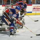 A disappointment in Detroit, Murphy skated on a Stanley Cup-winner in Edmonton in 1989-90, and had his peak season with the Oilers (35 goals in 1991-92). In all, though, his was a journeyman's career: 528 total points for seven teams over 14 seasons. — Notable picks: No. 2: Jimmy Carson, C, Los Angeles Kings | No. 9: Brian Leetch, D, New York Rangers | No. 22: Adam Graves, LW, Detroit Red Wings
