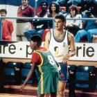 Kobe, age 11, plays in a fundraiser while living in Italy.
