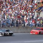 Dale Earnhardt's notoriously cruel fortune in the Daytona 500 was never better illustrated than in 1990, when a cut tire in Turn 3 of the final lap cost him a victory and allowed Derrike Cope to pass for the win. This was the same Derrike Cope who notched only two career wins, one of them coming at the Daytona 500. Earnhardt's career wins: 76, one in the Daytona 500.