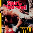 "A 42-1 underdog against unbeaten ''Iron Mike,"" Buster Douglas scored a knockout in the 10th round and the undisputed heavyweight title."