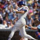 Future Hall of Famer Ryne Sandberg took home top honors in a Derby that was decidedly toned down from what it would become in later years. He needed only three home runs to win it at Wrigley Field, his home ballpark.