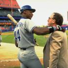 with Mets media director Jay Horwitz