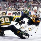 """In Game 2, Super Mario, in the immortal words of Penguins' broadcaster Mike Lange, """"beat Casey like a rented mule"""" with one of most dazzling goals in Stanley Cup history. Pittsburgh avenged its loss in the series opener and went on to win its first Stanley Cup, four games to two. Lemieux was named playoff MVP."""