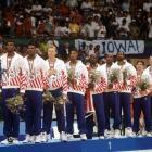 1992 Summer Olympics Gold Medal ceremony