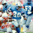 Barry Sanders ran circles around NFL defenses with an electrifying style unlike anything the league had seen.