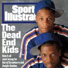 with Dwight Gooden in 1986