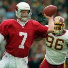 35 of 59 for 522 yards and 3 TDs in 37-34 loss to the Washington Redskins.
