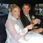 Jim Kelly and Jill Waggoner