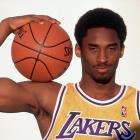 Kobe shows off his guns during this 1998 photo shoot.