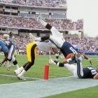 Steve McNair paid a high price to reach paydirt against the Steelers.