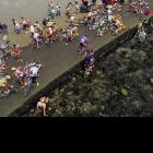 The race is cruel enough. Yet sometimes Tour officials can't help themselves, adding devilish wrinkles, such as the day in 1999 when they sent the peloton across the slippery Passage du Gois, which is underwater during high tide and dangerously slick when exposed. This mass pileup on the Passage trapped a number of name riders behind it. Not among them, Lance Armstrong, who went on to win his first Tour that year.